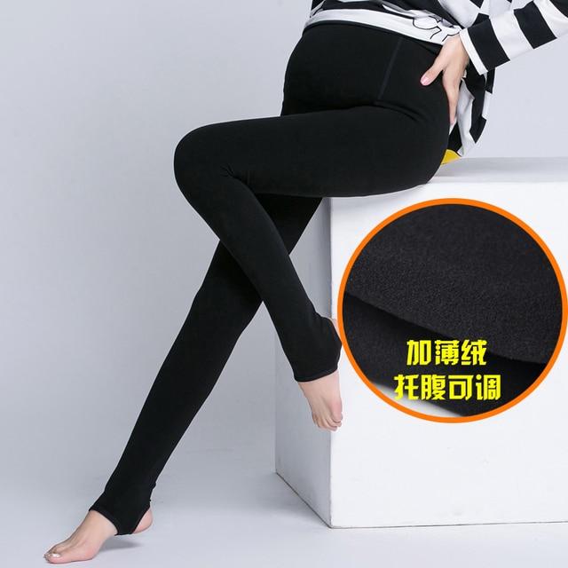 Одежда для беременных осень и зима все-матч по беременности и родам живот брюки колготки носки шаг плюс размер бархат