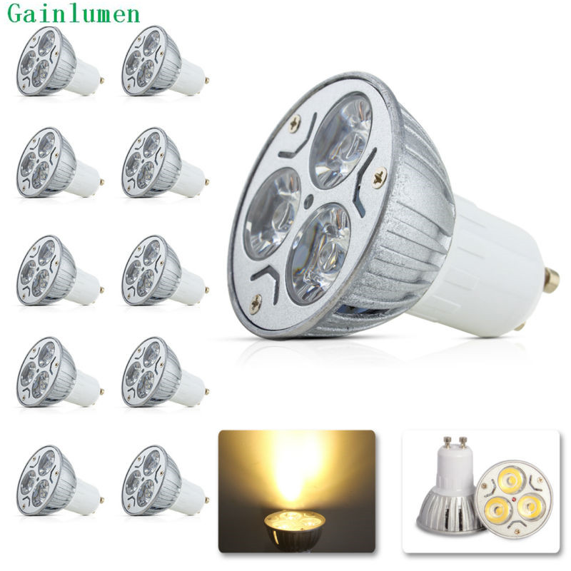 Wholesales GU10 Led Light Bulb 9W 12W 220V 230V 240V Cold Warm White led spotlght lamps for home modern 5PCS/LOT Free Shipping