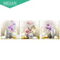 Diamond Flower Painting Restaurant Diamond Embroidery Stick Cross Stitch Brick And Stone Show Simple Modern