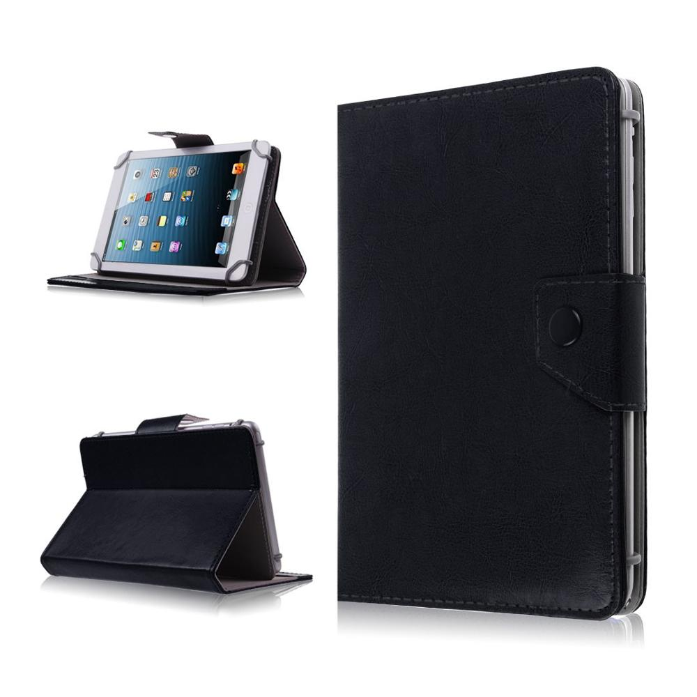 PU Leather Stand Cover Case For DNS AirTab M74 M76 7 inch Universal Tablet PC Protective Covers For kids+Free Stylus+Center Film