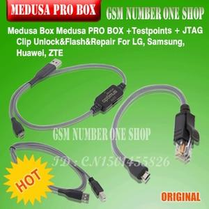 Image 5 - 100% оригинальный новый Medusa PRO Box medusa box + ISP все в адаптере + JTAG Clip MMC для LG для Samsung для Huawei с кабелем Optimus
