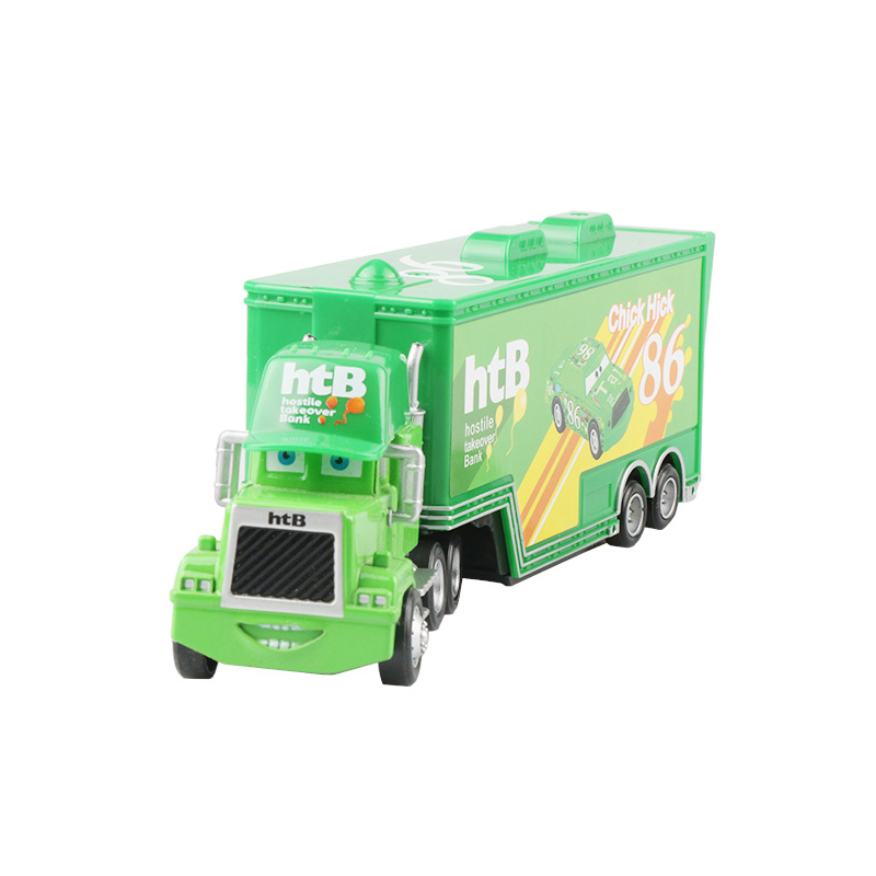 Дисней Pixar Тачки 2 3 игрушки Молния Маккуин Джексон шторм мак грузовик 1:55 литая модель автомобиля игрушка детский подарок на день рождения - Цвет: Chick Hicks Uncle