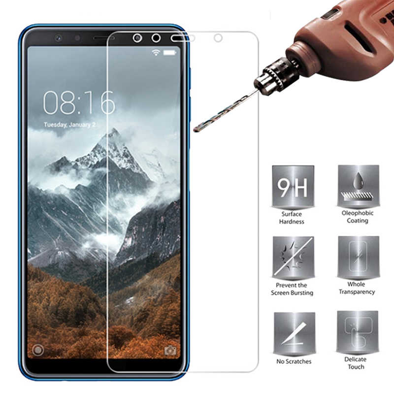 Tempered Glass For Samsung Galaxy A5 A6 A7 A8 Plus 2018 9H Screen Protector For Samsung A3 A5 A7 2016 2017 Protective Film