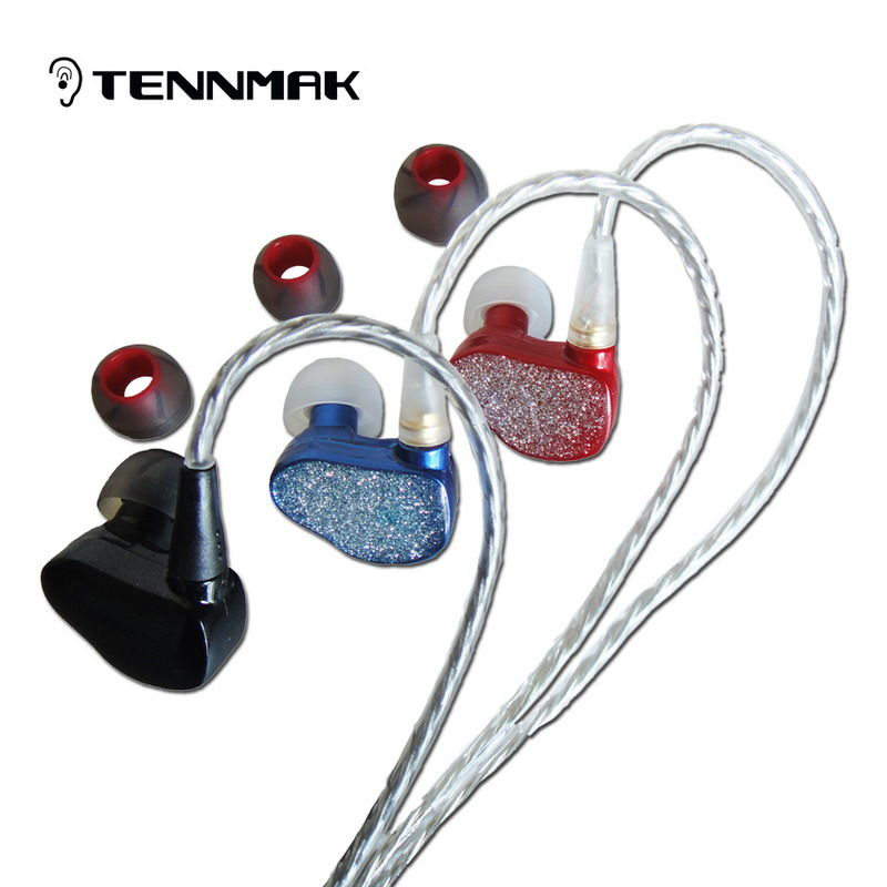 new Tennmak Piano in ear sport 3.5mm earphone ear buds wired IE800 STYLE s530 SE215 earphones for xiaomi mi notebook