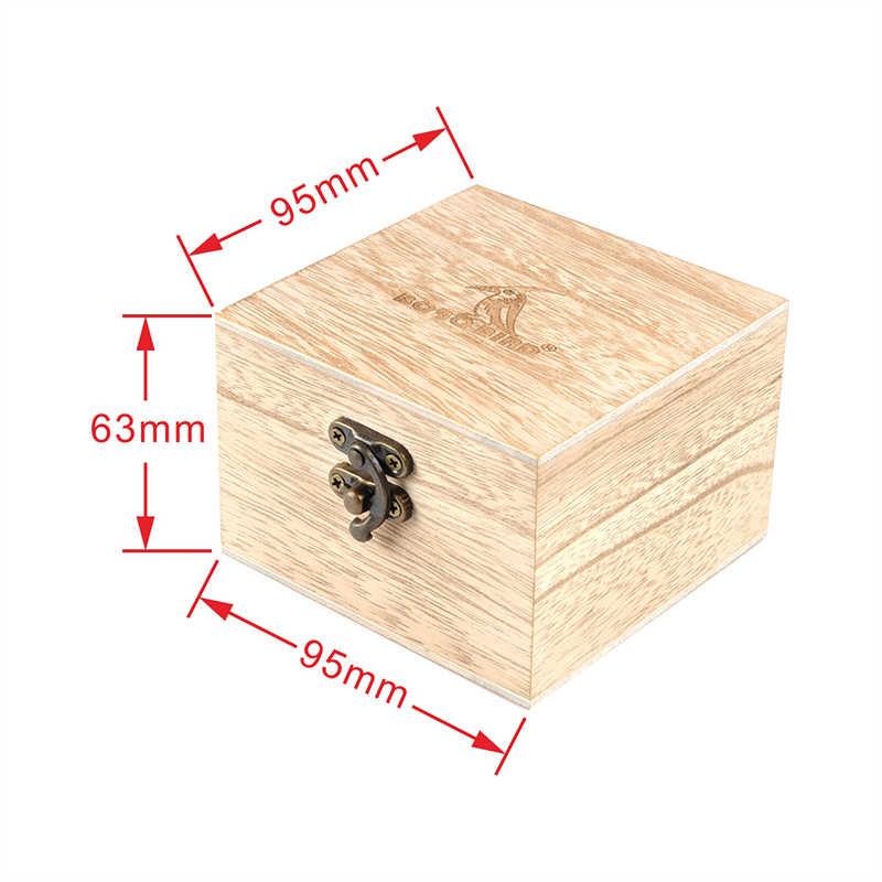 Caja de madera de bambú en blanco para reloj/Cajas de Regalo de joyería