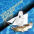 Frete grátis escala 1/80 holanda royal iate veleiro modelo de madeira modelo de navio modelo de brinquedo artesanal diy presente das crianças da educação