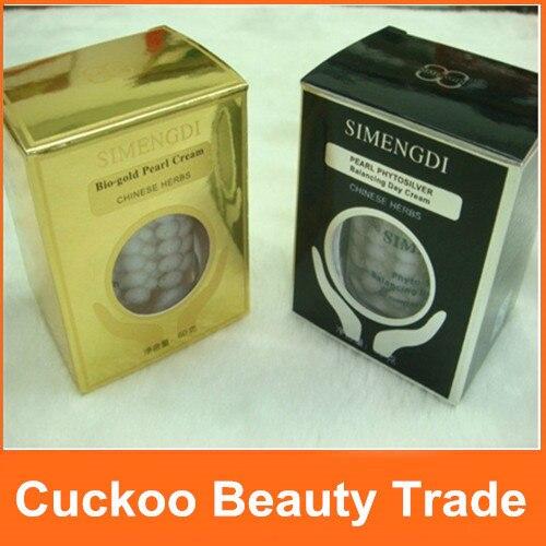 CUIDADO DE LA PIEL CREMA DE DÍA DE EQUILIBRIO fito plata + crema de noche de perlas Bio oro-in Crema solar facial from Belleza y salud    2