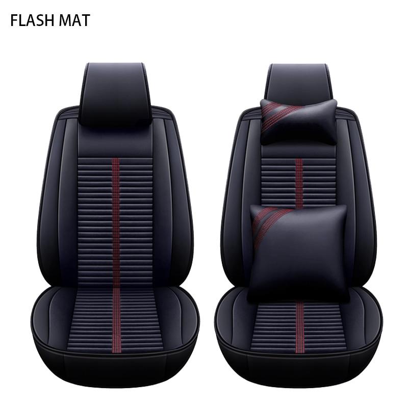 Siège de voiture universel couvre pour ford fiesta ford ranger fusion point 2 mk2 mondeo mk3 mk4 kuga auto accessoires De Voiture siège protecteur