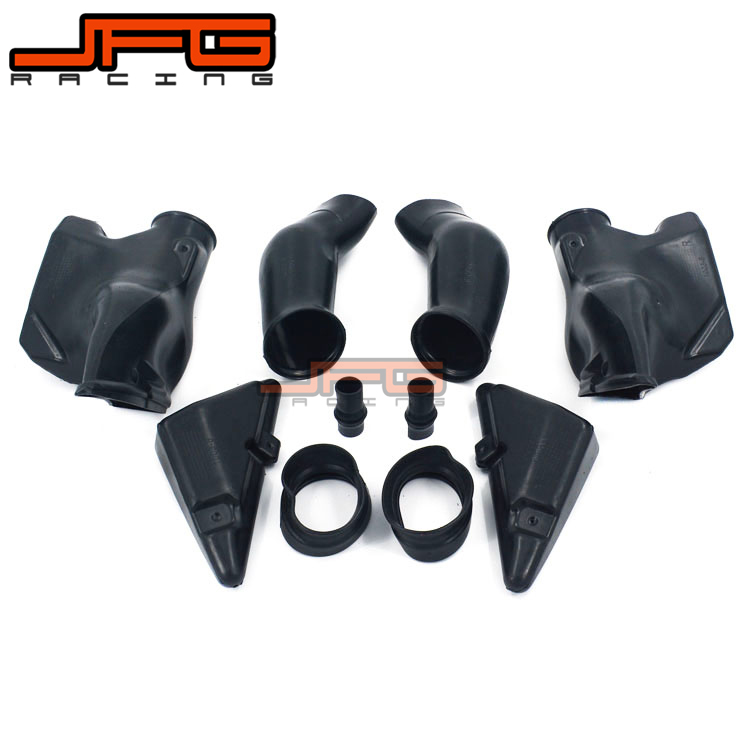 Motorcycle Ram Air Intake Tube Duct Pipe For HONDA CBR600RR CBR600 RR CBR 600 F5 2005 2006 05 06 abs plastic new motorcycle ram air intake tube duct for honda cbr600rr 2005 2006 f5 2005 high quality black