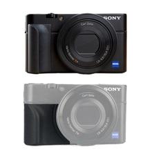 Kaymaz eki tutamak Sony RX100 RX100II RX100III M4 M5 RX100M6 lastik kavrama 3M etiket çanta kamera aksesuarları