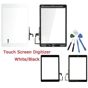 Replacement Touch Screen Digitizer Home Button Kits for iPad Air 1st Gen LCD Outer Panel Front Glass Sensor Replacement Office & School Supplies