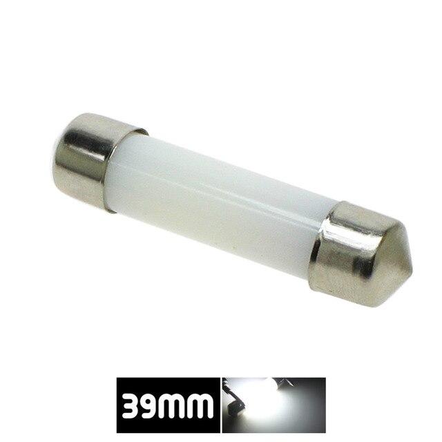 Dôme de décoration LED 31mm 36mm 39mm 41mm c5w 212-2 6418 blanc froid lecture plaque d'immatriculation lampe lumière LED ampoule couverture laiteuse ampoules 12V 3