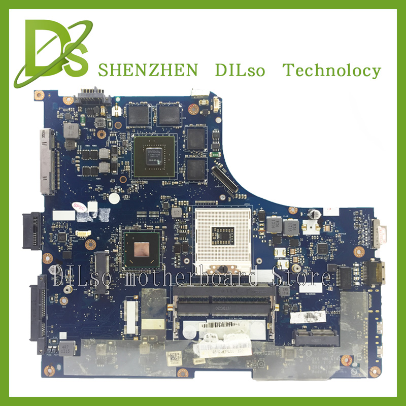 For lenovo ideapad Y500 QIQY6 NM-A142 laptop motherboard Y500 GT750 mainboard with graphics card 100% tested for lenovo ideapad g710 z710 motherboard dumbo2 rev2 1 mainboard gt745 2g non intergated 100