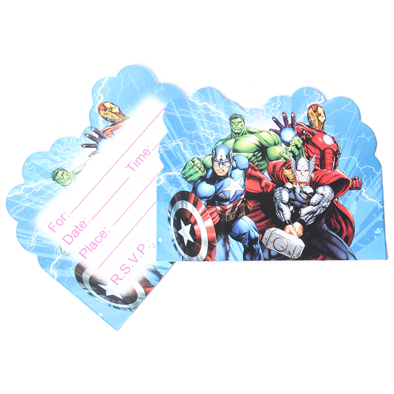 Detail Feedback Questions About 10pcs The Avengers Cartoon Theme