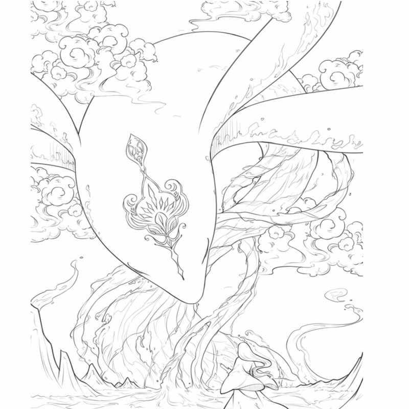 96 страниц книга раскраска для взрослых детей антистрессовая китайская древняя фигура линия рисование живопись граффити искусство раскраска книги