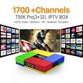 Octa Core Android Árabe IPTV CAJA T95KPRO Envío 1700 Europa Árabe IPTV Canales S912 3 GB/32 GB TV Box KODI Reproductor Multimedia WIFI H265