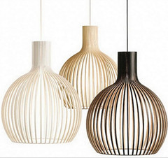 ФОТО creative novel white black yellow iron bird nest onion S M L led e27 pendant light for living room bed restaurant lamp 1951