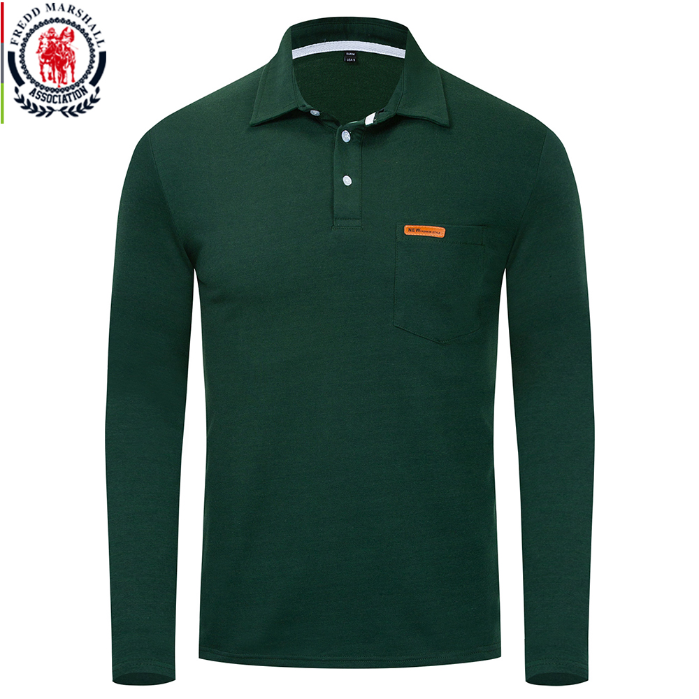 Detail Feedback Questions About Fredd Marshall Autumn New Men Polo