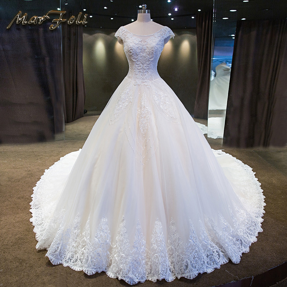 Luxury Wedding Dresses 2018 With Good Quality Boho Wedding