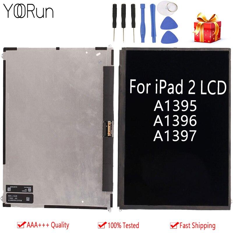 100% QualitäT 100% Original Für Apple Ipad 2 A1395 A1397 A1396 Lcd Display Bildschirm Für Ipad 2 Tablet-display Bildschirm Ersatz Freies Verschiffen