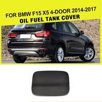 Car Styling Carbon Fiber Oil Fuel Tank Cover Cap for BMW F15 X5 4 Door 2014 2017