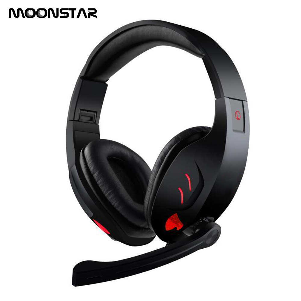 все цены на Deep Bass Computer Game Headphones 3D surround sound folding headphones with HD Microphone USB plug LED Light for Computer PC