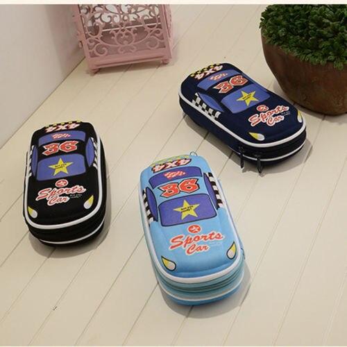 Model Baru Kartun Keren Bentuk Mobil Mobil Alat Tulis Anak Kotak