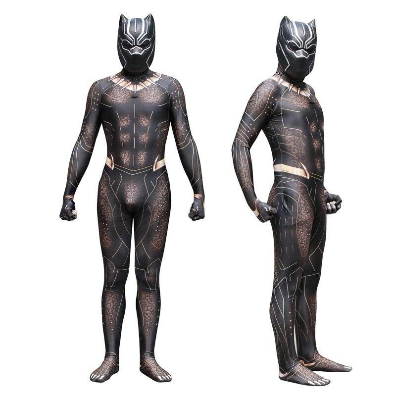 Film Erik Killmonger Panthère Noire Costume 3D Imprimé Cosplay zentail Costume