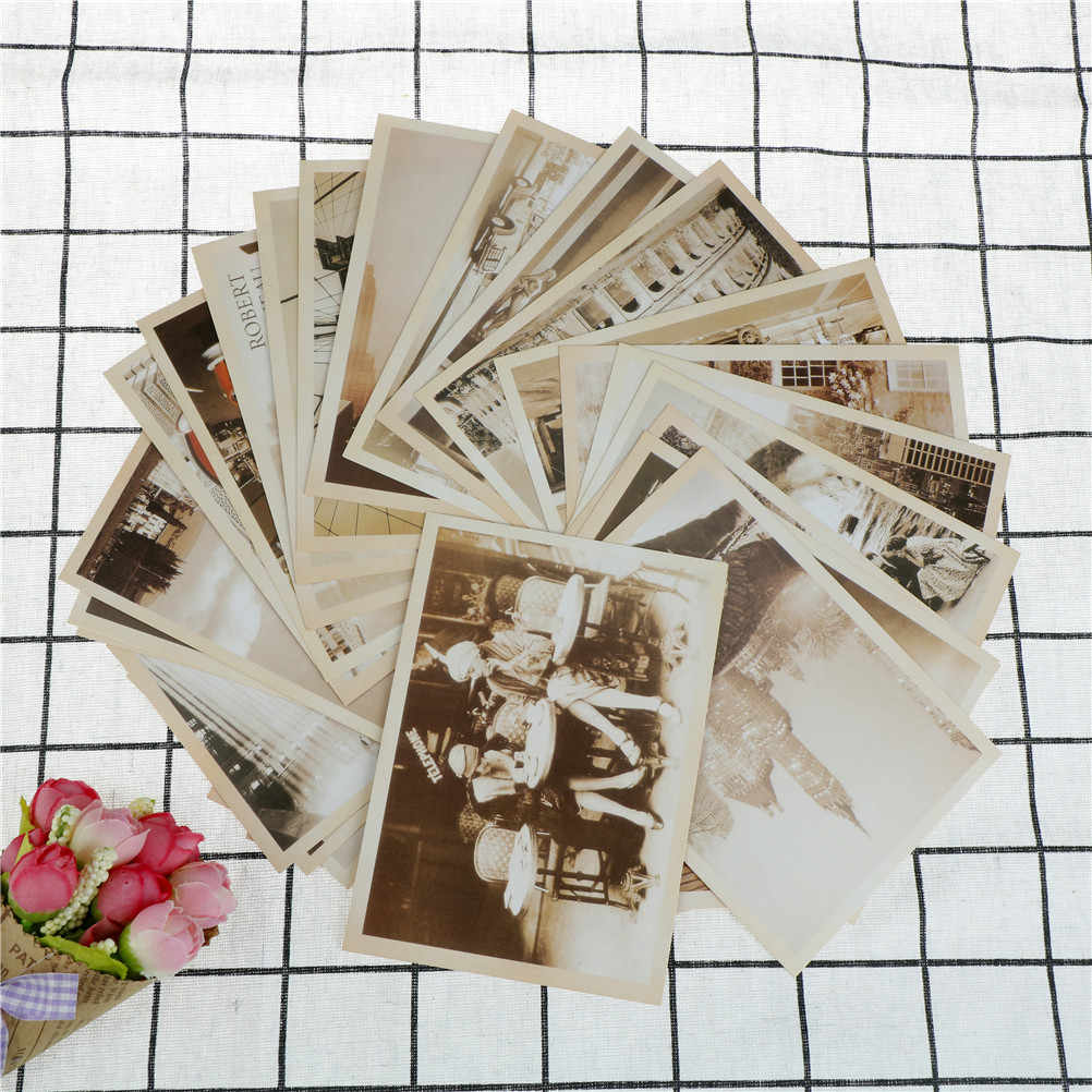 Poster Post Card Lot of 32 Travel Postcard Retro Vintage Landscape Photo Picture