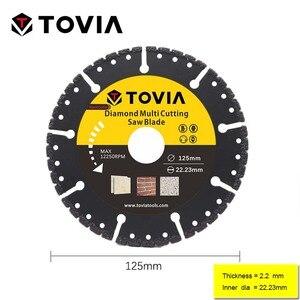 Image 2 - TOVIA 125mm Diamond Circular Saw blade Multi Cutting Universal Disc Multipurpose Angle Grinder Saw Disc Power Tool Accessories