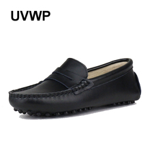 Spring Autumn Genuine Leather Women Flat Shoes Waterproof Woman Moccasins Casual Flats Loafers Women Shoes Lady Driving Shoe