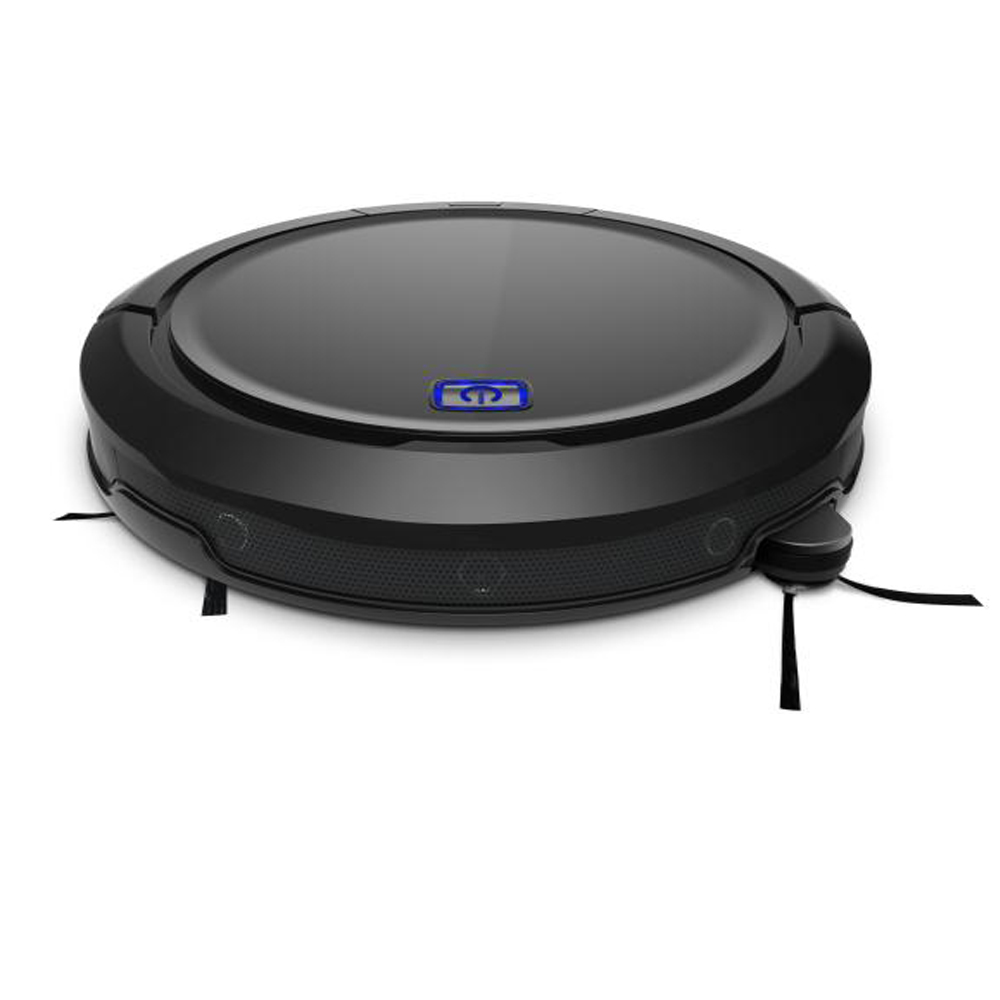 Robotic vacuum cleaner CLEANMATE QQ9 black 3D map navigation memory function with camera dry wet mop water tank flexible brush in Vacuum Cleaners from Home Appliances