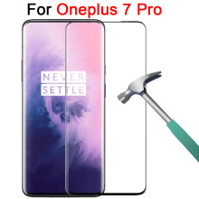 3d Protective glass for oneplus 7 pro tempered glass screen protector on one plus 7 pro 7pro glas accessories phone safety film