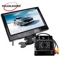 9 TFT Car Monitor With 12 24V HD Display For Bus 18.5/28 mm Reversing Camera Parking System 360 Degree Desktop 4/8/16 LED