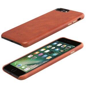 Image 5 - 20 шт., летний винтажный кожаный чехол для iPhone 8 7 6s 6, Роскошный деловой чехол из натуральной кожи для iPhone X, элегантные чехлы для телефонов