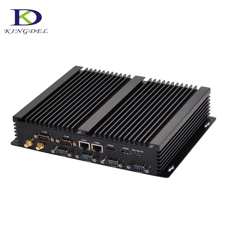 [Core I7 5550U I5 4200U I3 4010U ] Fanless Industrial Computer Windows 10 Intel HD Graphics 4400 300M Wifi 14nm Desktop Mini PC