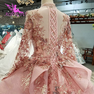 Image 5 - AIJINGYU Ivory Lace Dress Tulle Bridal Gown Long Frocks Store Vintage Korean Modest Gowns Wedding Boutiques