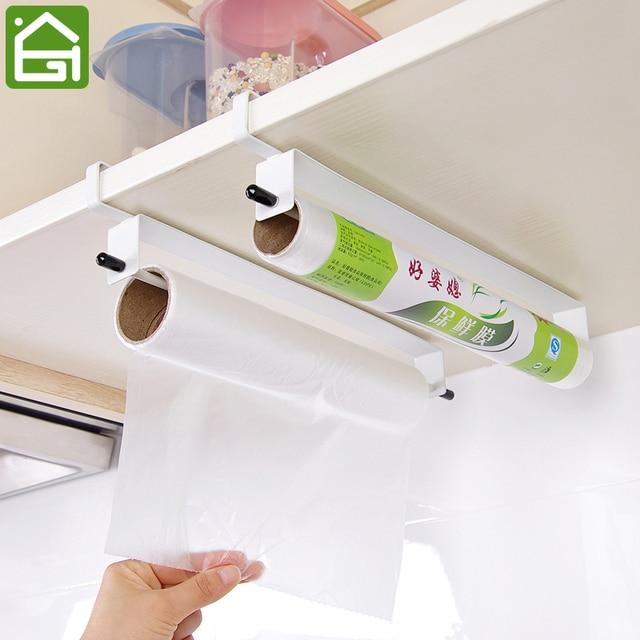 Küche Lebensmittelfolie Papier Handtuch Hängen Halter Schranktür ...