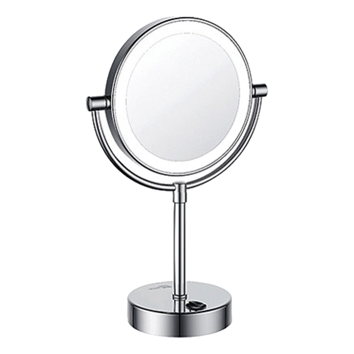 Mirror with LED WasserKRAFT K-1005 fashion women makeup mirror 8 led lights lamps cosmetic folding portable compact pocket hand mirror makeup tool ulike porto