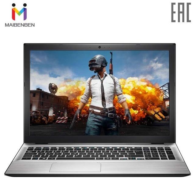 """Ультра-тонкий лаптоп MAIBENBEN XIAOMAI 5 15,6"""" FHD-TN/4415U/4G/128G SSD (M.2)/GT 940MX-1G/DOS/серебристый"""