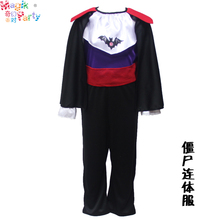 Child halloween costume cosplay performance wear coverall-vampire