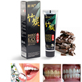 2pcs/lot Bamboo charcoal Teeth Whitening Black Herbal Paste Tooth Wash Repair Dentifrice Scouring Insect-resistant Whitening