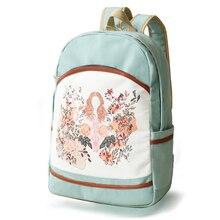 Холст рюкзак мешок, Южная Корея версия школьников младших учащихся средних школ путешествовать рюкзак женщин сумки