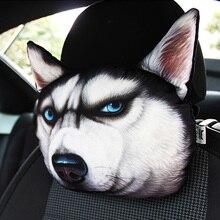 רכב אוטומטי משענת ראש משענת ראש יפה 3D מודפס בעלי רכב מושב מכסה צוואר אוטומטי בטיחות משענת ראש אספקת