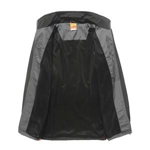 Image 4 - YIHUAHOO ブランドトラックスーツ男性ツーピース服セットカジュアルジャケット + パンツ 2 本トラックスーツスポーツウェア Sweatsuits 男 LB1601