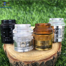 QP KALI RDA Fatality Atomizer Drip Oil DIY 25mm 316 stainless steel and PC pei vape vaporizer vs Apocalypse GEN 25