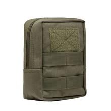 1000D Военная тактическая поясная сумка, многофункциональный инструмент EDC Molle на молнии, поясная сумка, аксессуар, прочный поясной мешок