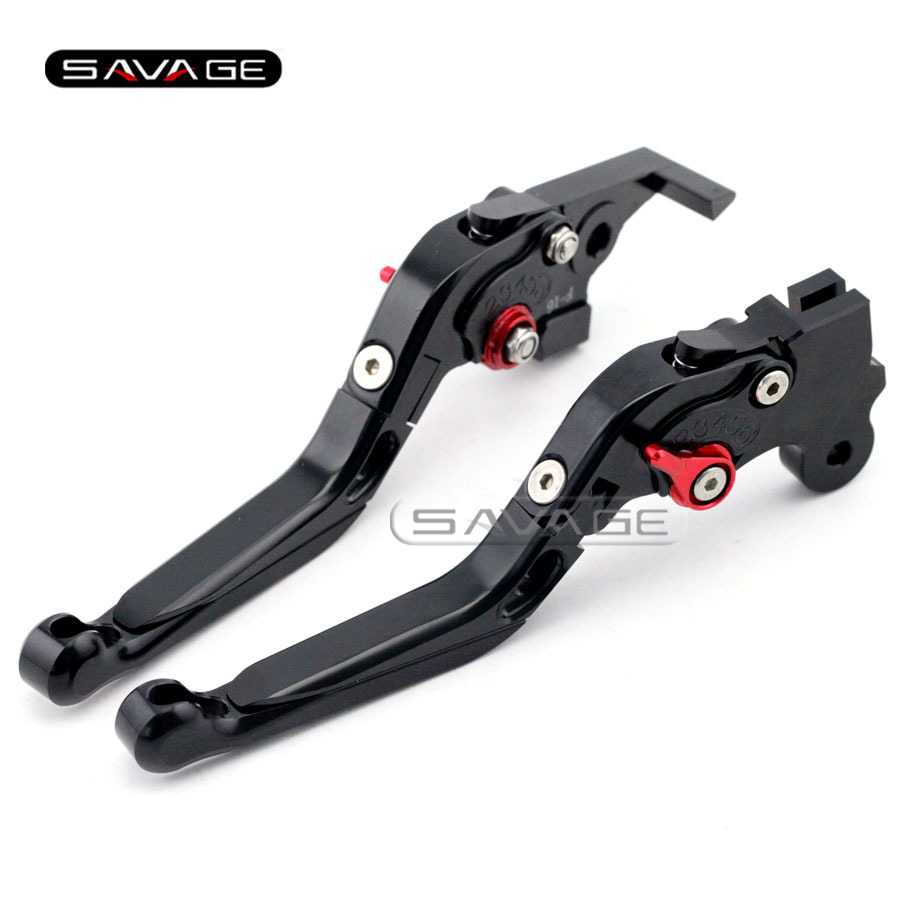 For BMW F650GS/Dakar F650CS Scarver G650GS G650 Sertao Black Motorcycle Adjustable Folding Extendable Brake Clutch Levers