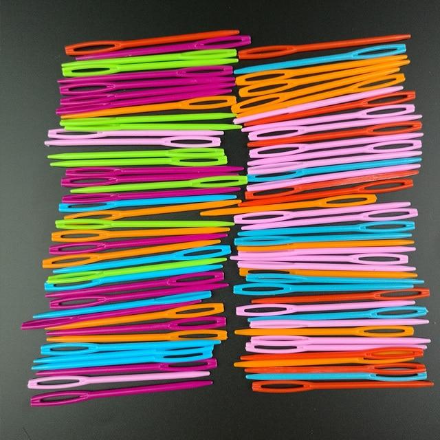 См 5x7 см + 5x9 пластик красочные большой глаз шерсть Вышивание Вышивка Иглы Для гобеленов крест штопор Stitchery Вышивка крестом иглы Craft Инструменты