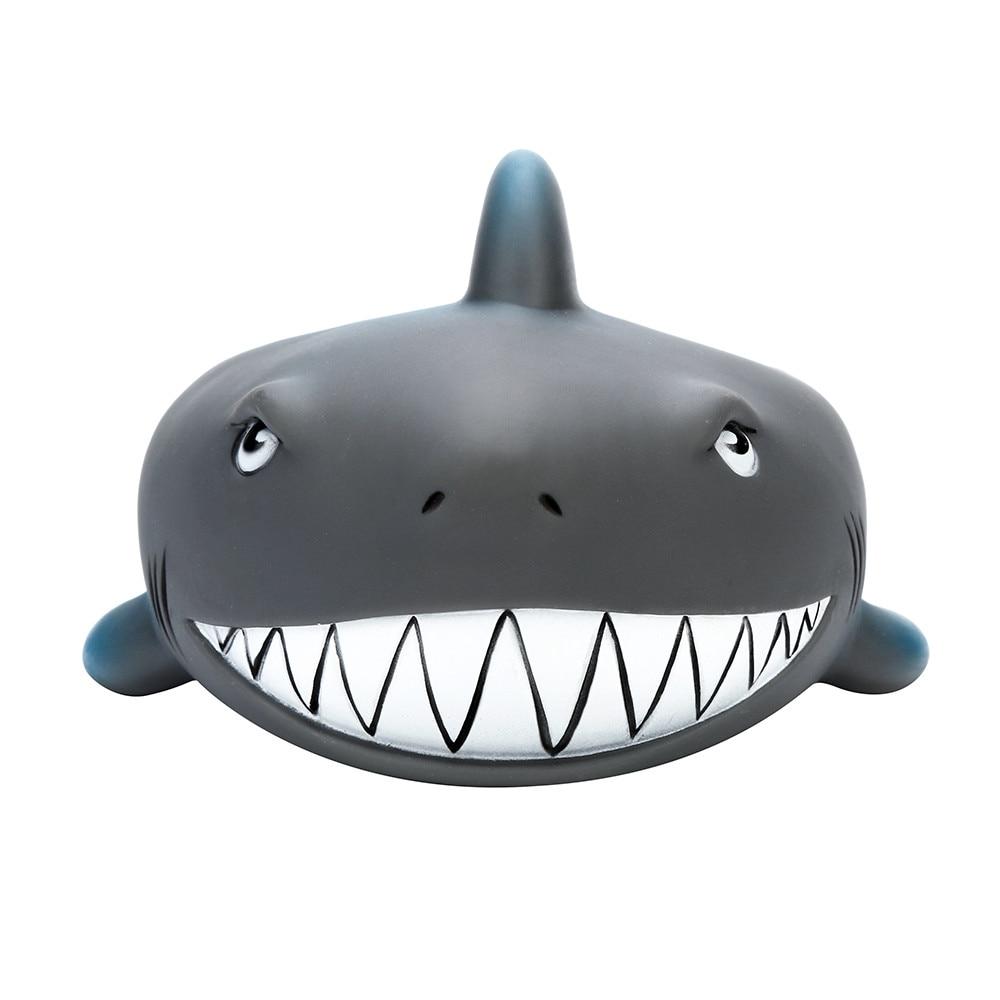 Rubber Kids Toy Shrilling Cute Shark Family Bathtub Pals Floating Bath Tub Toy